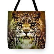 The Leopard Of The Temple  Tote Bag