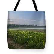 The Less Traveled Path Tote Bag