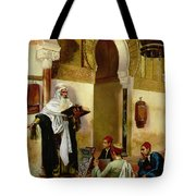 The Lesson Tote Bag by Rudolphe Ernst