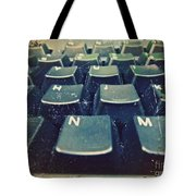 The Letters Tote Bag