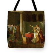 The Lictors Bring To Brutus The Bodies Of His Sons Tote Bag