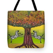 The Life-giving Tree. Tote Bag
