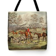 The Life Of A Sportsman Tote Bag