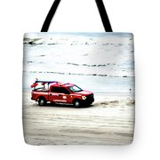 The Lifeguard Truck Tote Bag