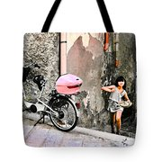 The Life.vieste.italy Tote Bag