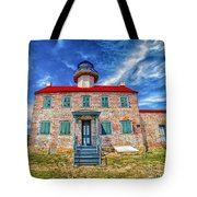 The Light At East Point Tote Bag