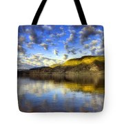 The Light At Skaha Lake Tote Bag