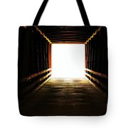 The Light At The End Tote Bag