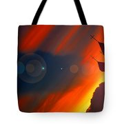 The Light Calling Tote Bag