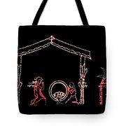 The Light Of Christmas Tote Bag