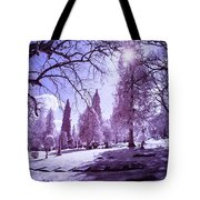 The Light Of River View Tote Bag