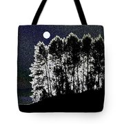 The Light Of The Moon Tote Bag