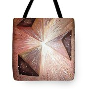 The Light Of The Peace Tote Bag