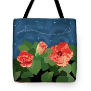 The Light Of The Stars Tote Bag