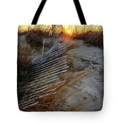 The Light On The Hill Tote Bag