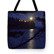 The Light Shines Through Tote Bag