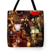 The Light Shop Marrakesh Tote Bag