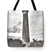 The Lighthouse At Cape May Tote Bag