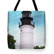 The Lighthouse At Key West Florida Tote Bag