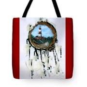 The Assateague Lighthouse Tote Bag