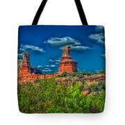 The Lighthouse Formation Tote Bag