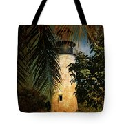 The Lighthouse In Key West Tote Bag