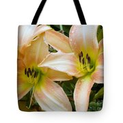 The Lillies Have It Tote Bag