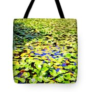 The Lily Pond #2 Tote Bag