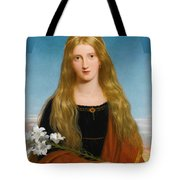 The Lily. Portrait Of Miss Bury Tote Bag