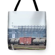 The Linc From The Other Side Of The Tracks Tote Bag