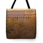 The Lincoln Memorial, Seen Tote Bag