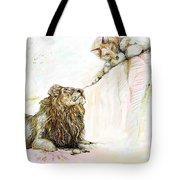 The Lion And The Fox 1 - The First Meeting Tote Bag