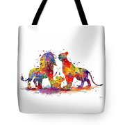 The Lion King Family Tote Bag