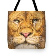 The Lion Roar Of Freedom Tote Bag