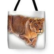 The Lioness - Vignette Tote Bag