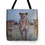 The Lions Of Africa 1 Tote Bag
