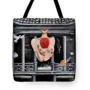 The Lips Of Forgetting Craziness Tote Bag