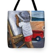 The Little Artist Tote Bag