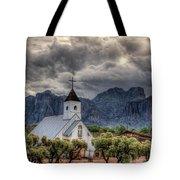 The Little Church  Tote Bag