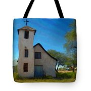 The Little Church Tote Bag