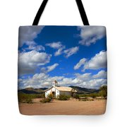 The Little Country Church Tote Bag