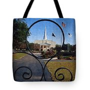 The Little Framed Church Tote Bag