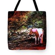 The Little Pink Unicorn By Pedro Cardona Tote Bag