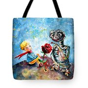 The Little Prince And E.t. Tote Bag