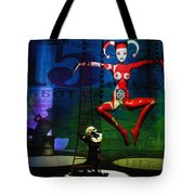 The Little Puppet Master Tote Bag