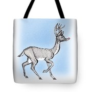 The Little Reindeer  Tote Bag