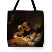 The Little Sleeping Brother Tote Bag
