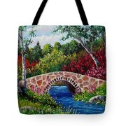 The Little Stone Bridge Tote Bag