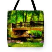 The Little Stone Bridge Tote Bag