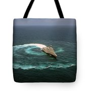 The Littoral Combat Ship Uss Independence Tote Bag